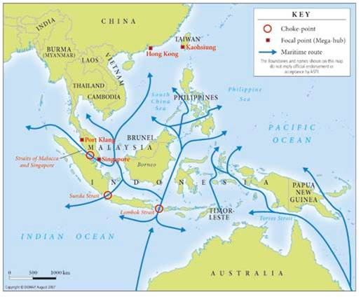 Australia Defence Association - Sea-lanes: Maritime SE Asia